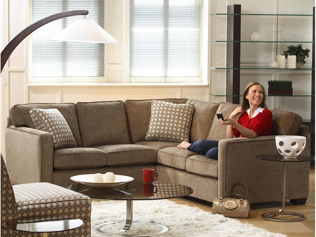 Stylus 5901Five Seat Sectional Sofa