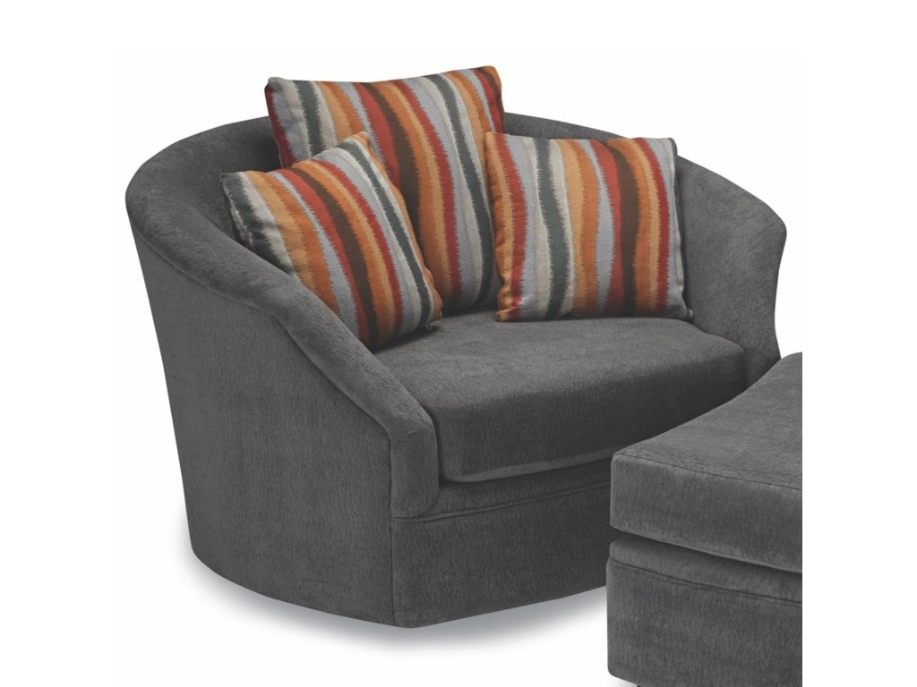 sofa tub swivel round with full of chair large size design turning