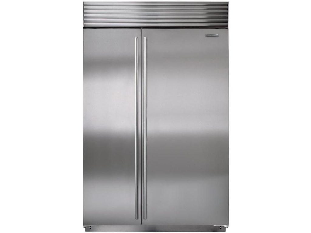 Sub Zero Bi 42sid23 7 Cu Ft Counter Depth Built In Side By Refrigerator Furniture And Liancemart Cabinet Bottom Freezer