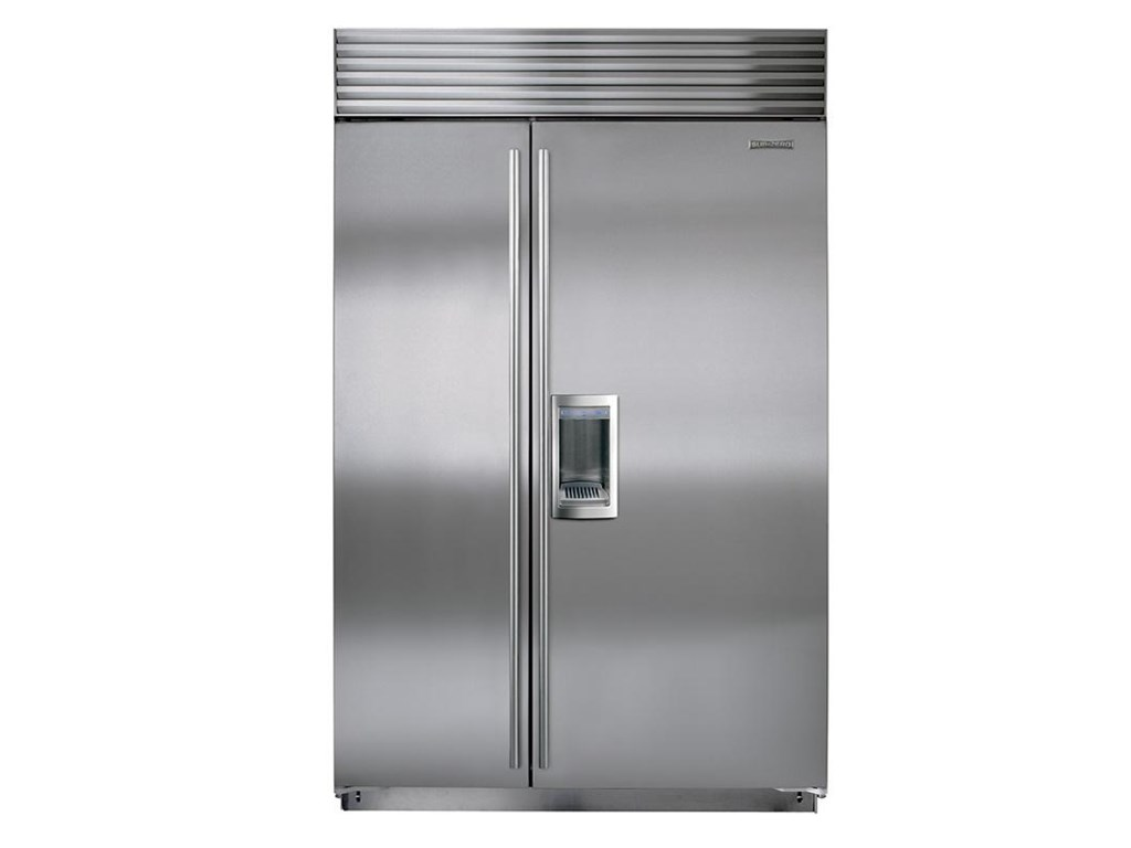 Sub zero bi 48sd48 side by side refrigerator with external water sub zero bi 48sd48 side by side refrigerator with external water dispenser furniture and appliancemart refrigerator side x side with dispenser rubansaba