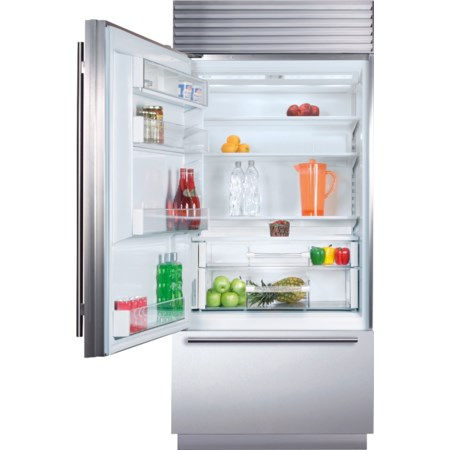 "36"" Built-In Over-and-Under Refrigerator"