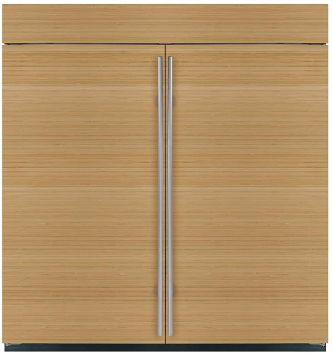 Shown in Overlay, Flush Inset Application with BI-36F Freezer and Dual Grille
