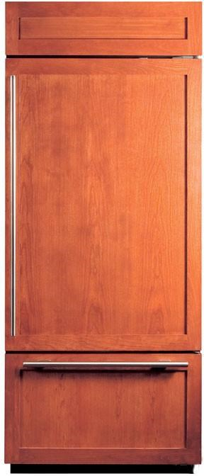 Shown with Wood Panels in Flush Inset Application