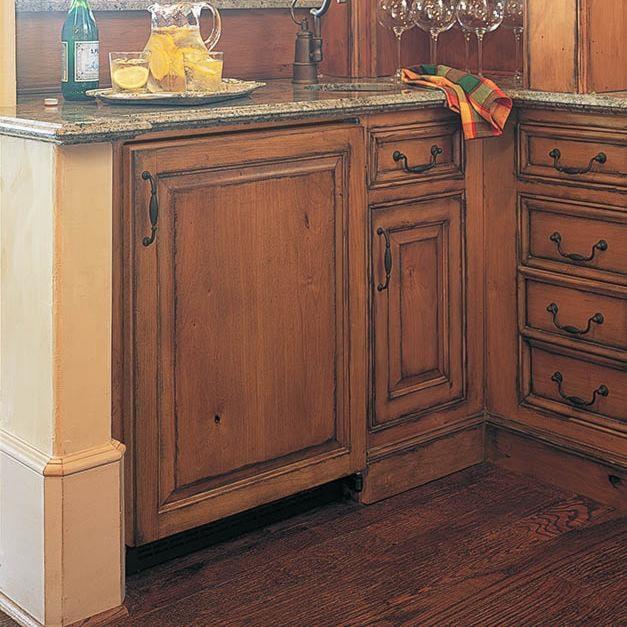 Accepts Custom Wood Panels