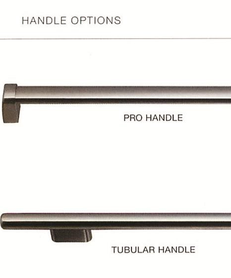 Pro and Tubular Handle Options
