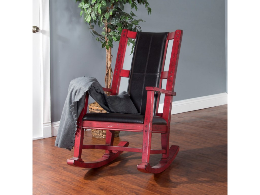 Sunny Designs 1935Wood Rocker