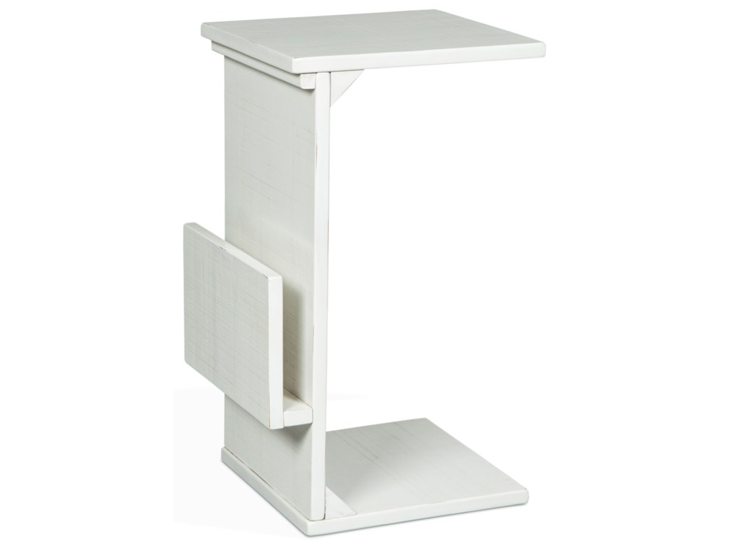 VFM Signature 2029Chairside Table w/ Magazine Rack