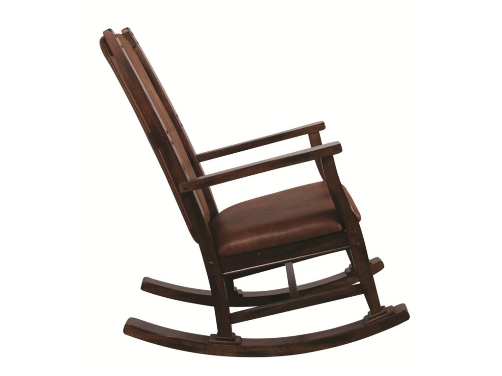 Market Square Santa ClaraSanta Clara Wood Rocker with Cushion