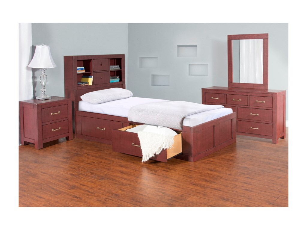 VFM Signature 2319Dresser and Mirror Set