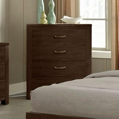 Sunny Designs 2319 Rustic 4 Drawer Chest with Weathered Finish