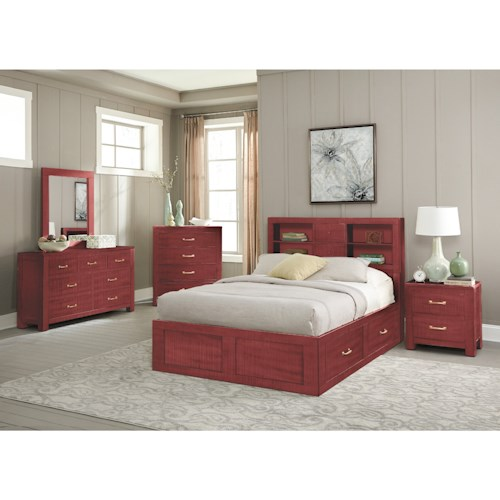 Sunny Designs 2319 Full Bedroom Group