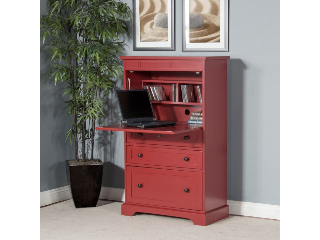 Sunny Designs 2848Laptop Armoire