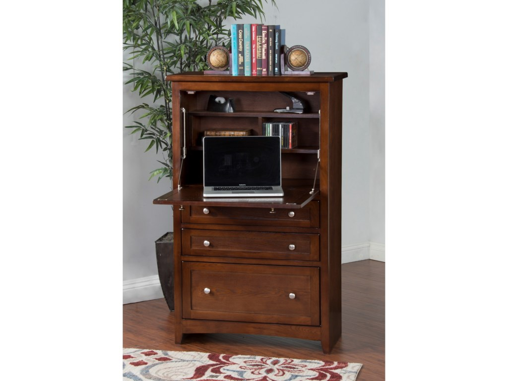 Sunny Designs 2849Laptop Armoire