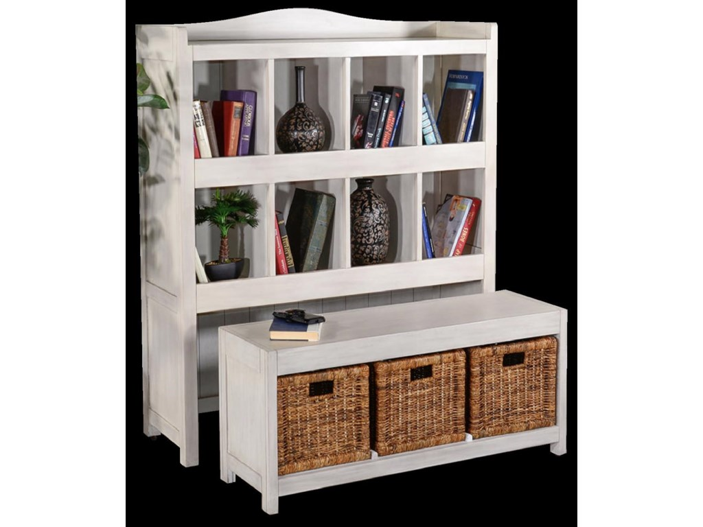 Sunny Designs 2993Storage Bookcase