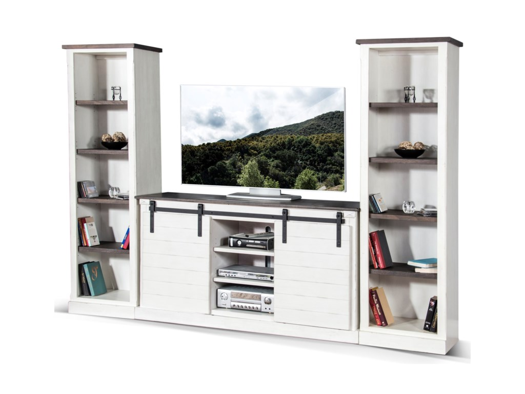 Sunny Designs 3577Entertainment Wall Unit