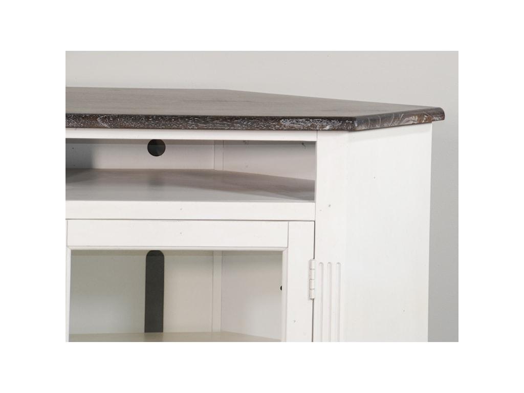 Sunny Designs 3635Corner TV Stand