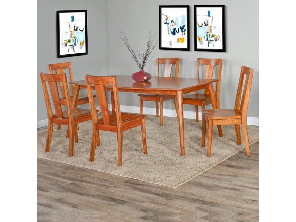 Sunny Designs American ModernDining Side Chair 2 Pack
