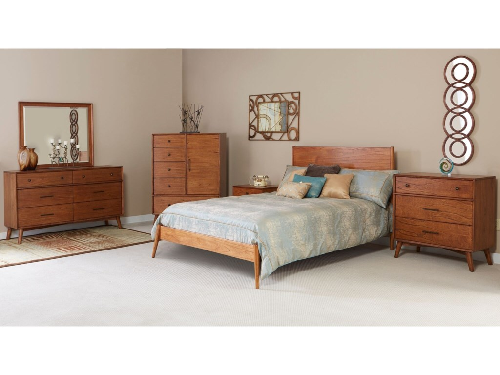 Sunny Designs American ModernKing Panel Bed