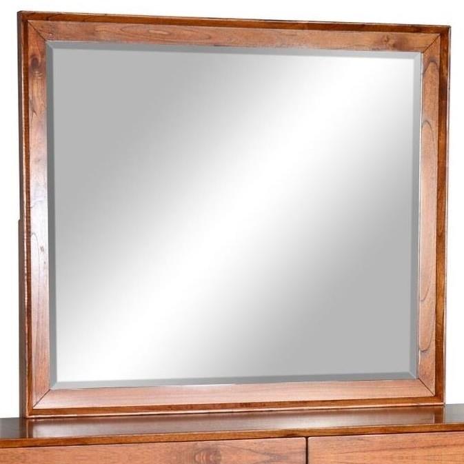 Sunny Designs American Modern Mid Century Modern Mirror