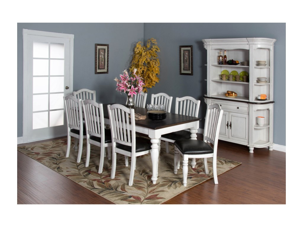 Sunny Designs Bourbon CountyExtension Dining Table