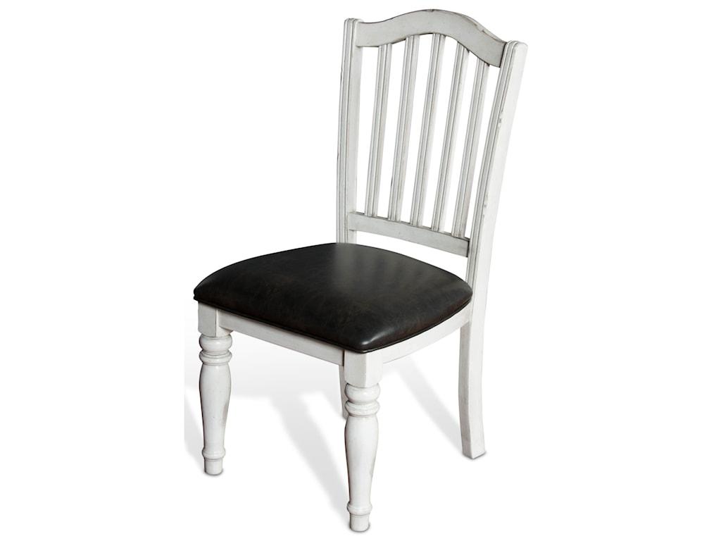 Sunny Designs Bourbon CountySlatback Chair w/ Cushion Seat