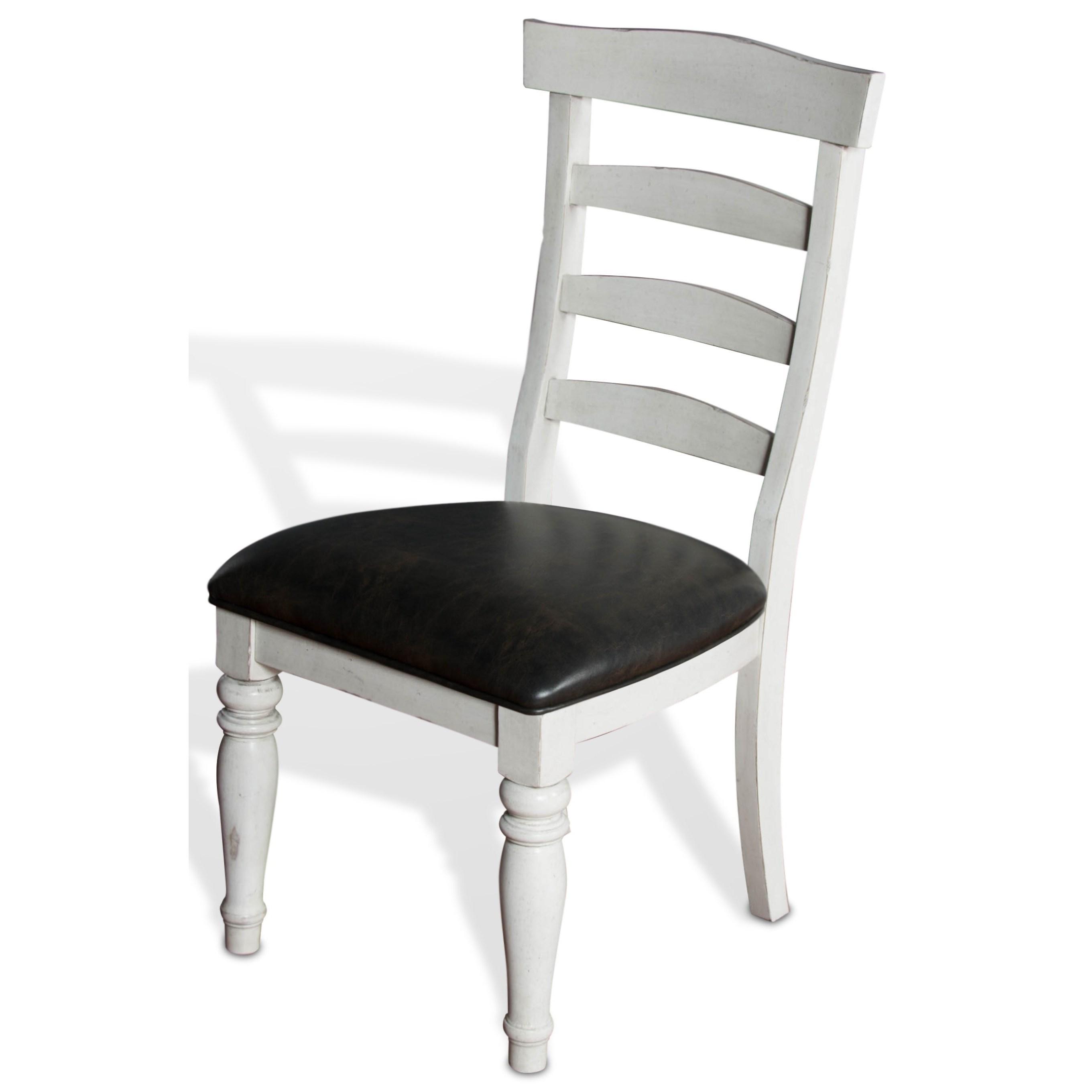 Sunny Designs Bourbon CountyLadderback Chair W/ Cushion Seat ...