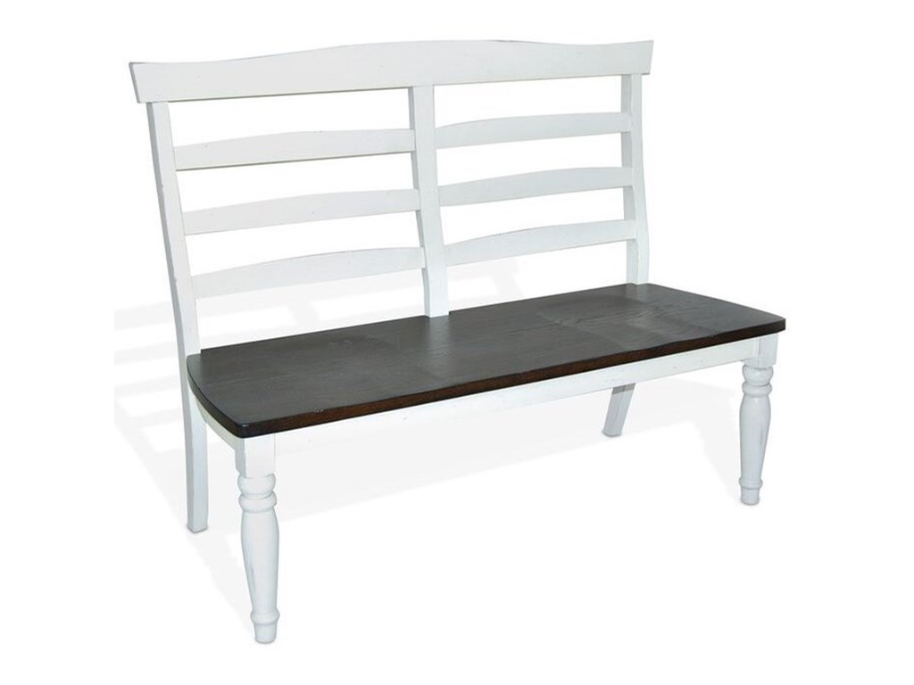 Sunny Designs Bourbon CountyLadderback Dining Bench