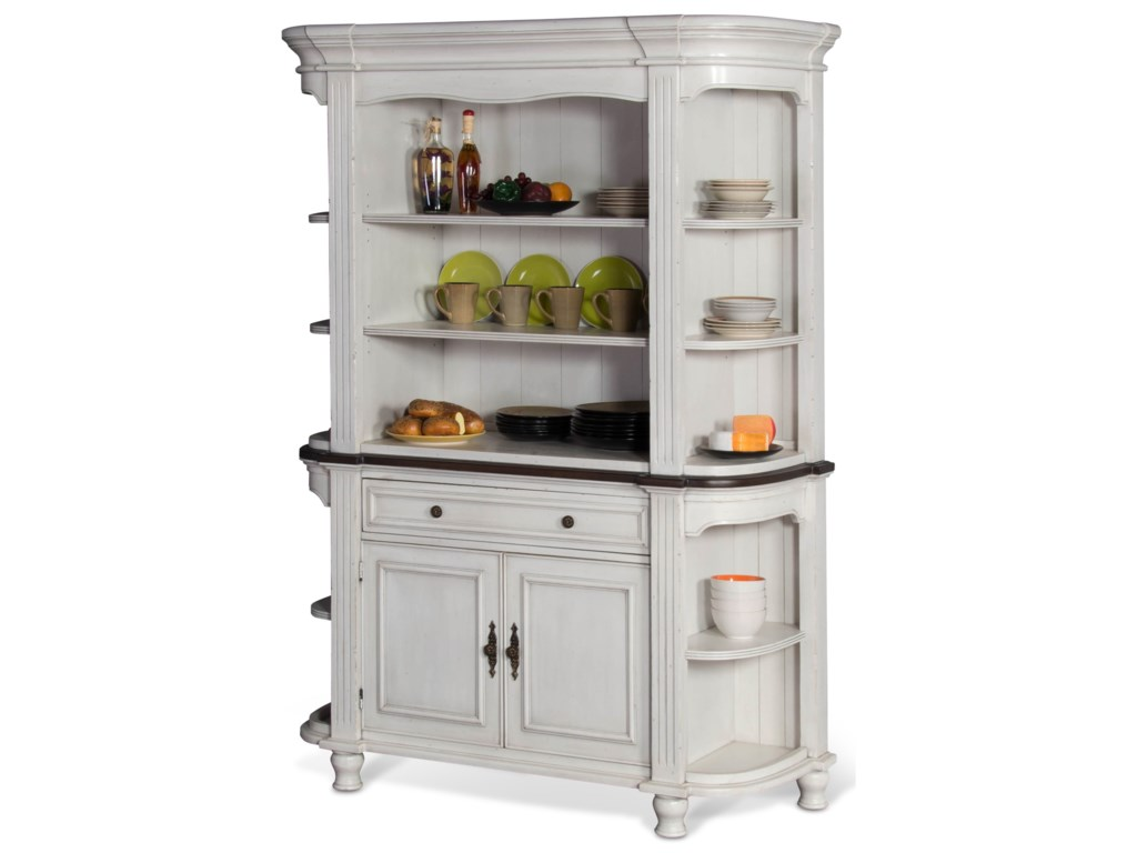 Sunny Designs Bourbon CountyBuffet & Hutch