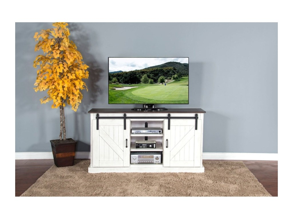 Sunny Designs Bourbon CountyTV Console