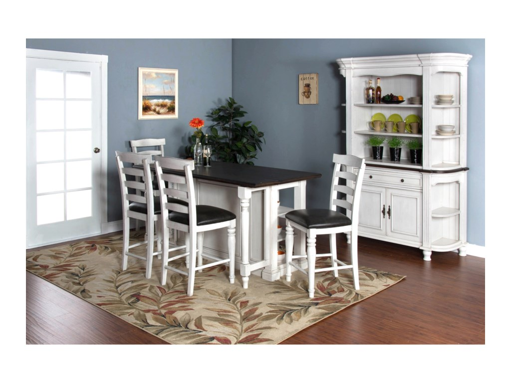 Sunny Designs Bourbon CountyCasual Dining Room Group