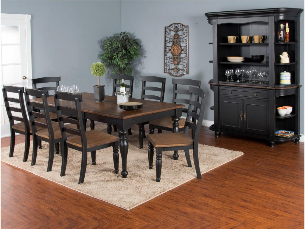 Sunny Designs Bourbon TrailFormal Dining Room Group