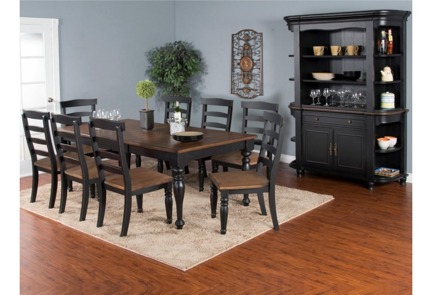 Sunny Designs Bourbon Trail Formal Dining Room Group | Home ...