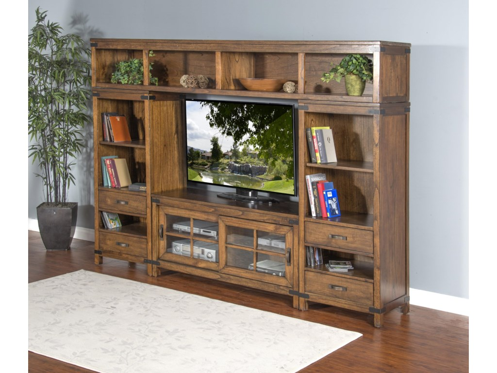 Market Square BrantwoodBrantwood 4-Piece Media Wall Unit