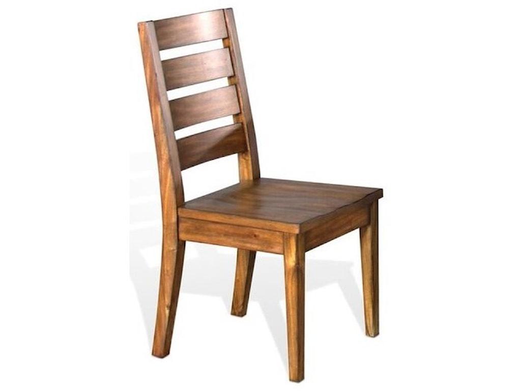 Sunny Designs Carey Live EdgeLadderback Chair