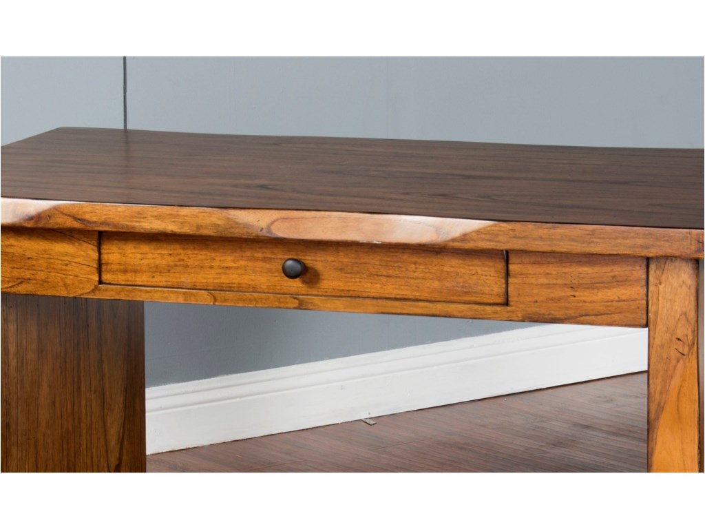 Sunny Designs Carey Live EdgeWriting Desk