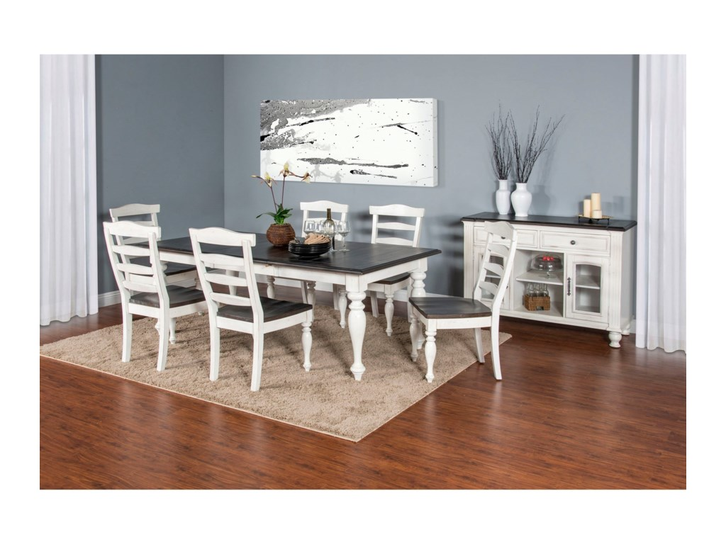 Sunny Designs Carriage HouseExtension Dining Table