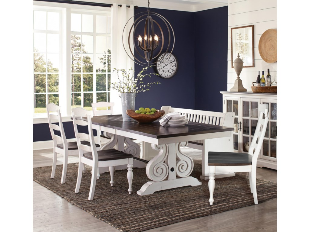 Sunny Designs Carriage House5 Piece Table and Chair Set