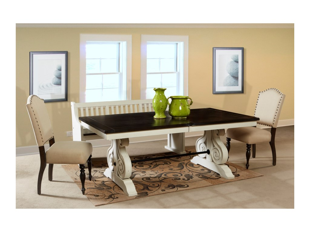 Sunny Designs Carriage HouseTrestle Table