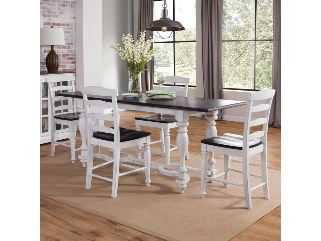 Sunny Designs Carriage House5-Piece Friendship Table Set