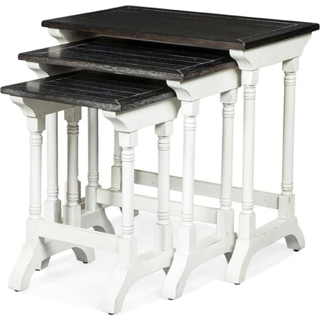 Three Piece Nesting Table