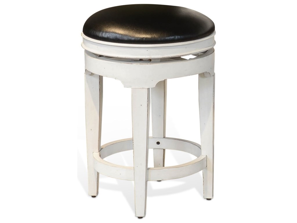 Sunny Designs Carriage HouseSwivel Stool, Cushion Seat