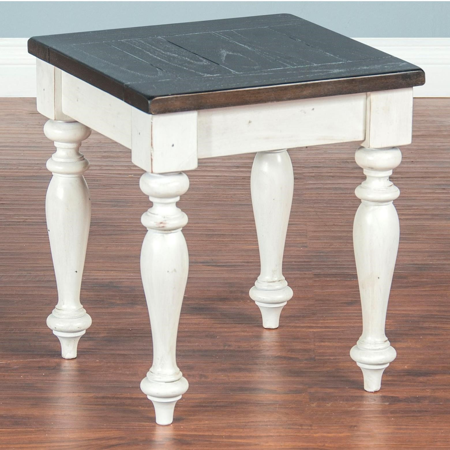 Sunny Designs Carriage HouseVanity Stool ...
