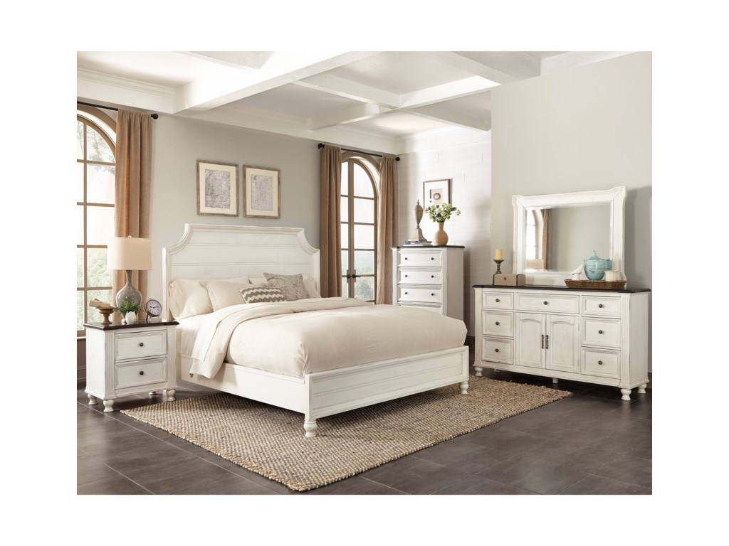Sunny Designs Carriage HouseQueen Bedroom Group