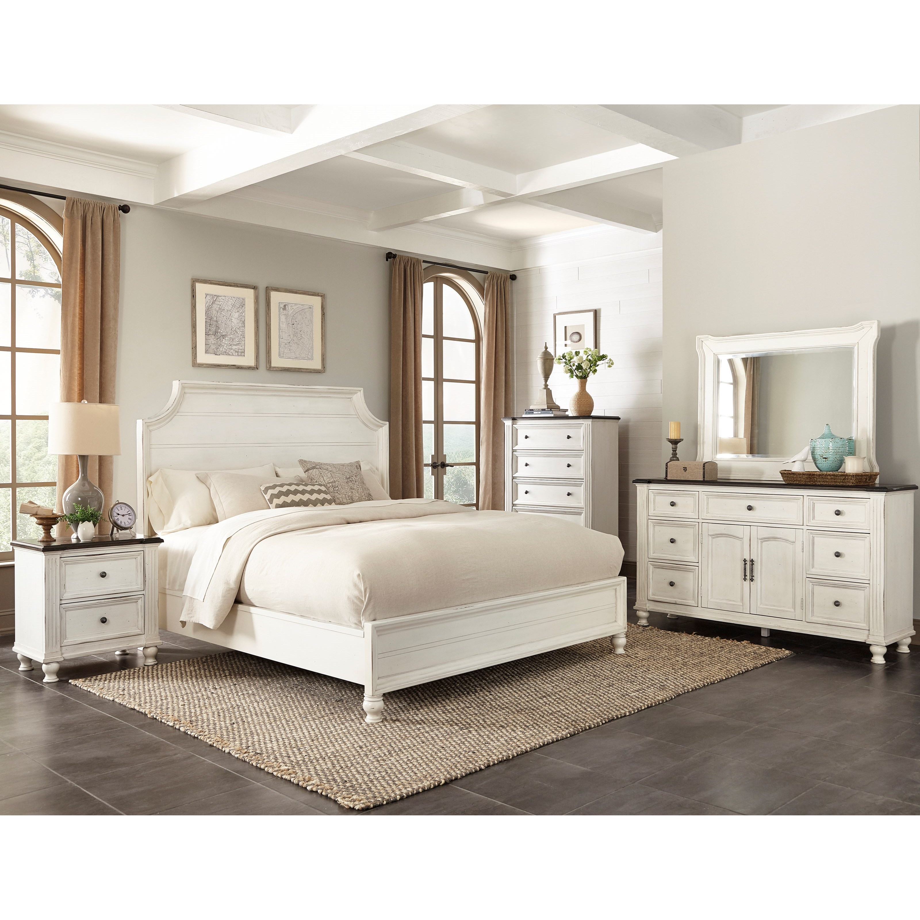 Sunny Designs Carriage House Queen Bedroom Group