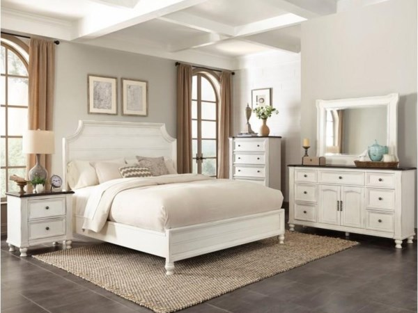 Solid Wood Queen Bedroom Set (all white)