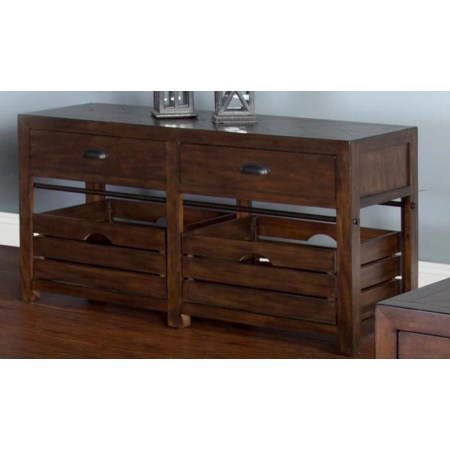Crestburg Sofa Table