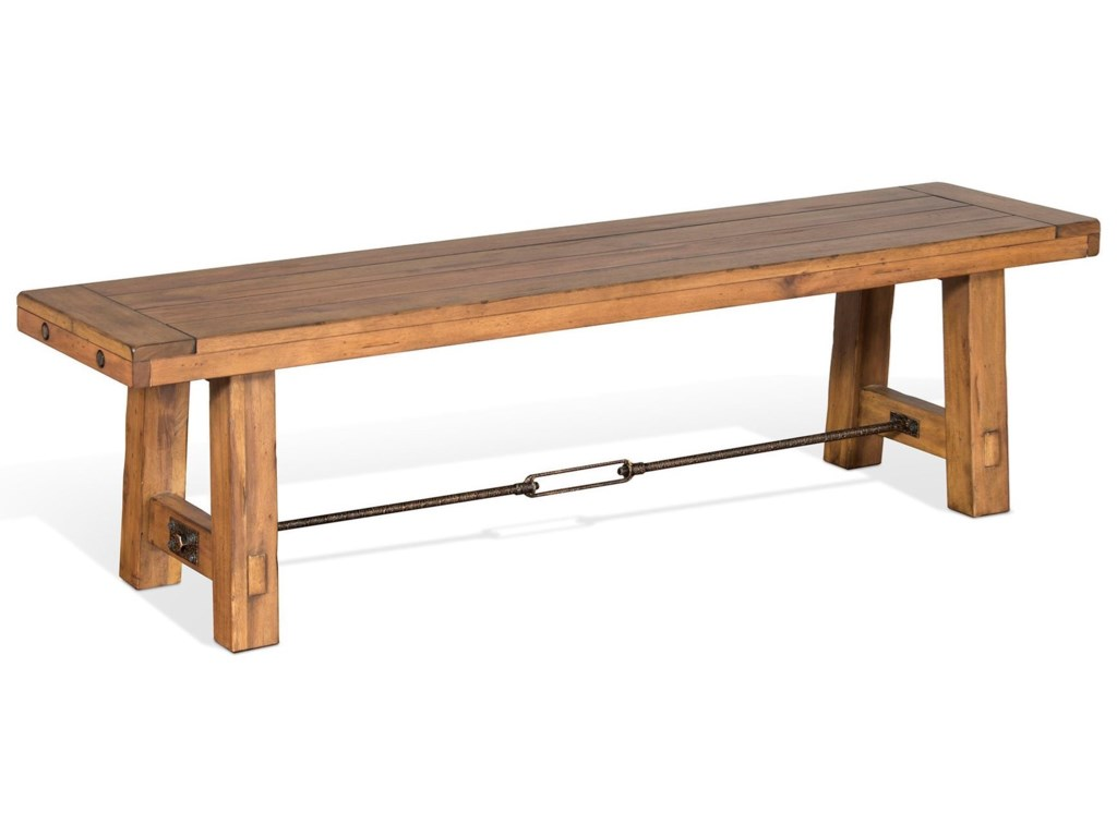 Sunny Designs Dry LeafDining Bench