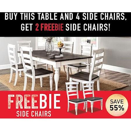 Fairbanks 5-Piece Set with Freebie!