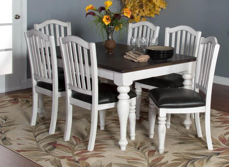 Market Square Fairbanks 5-Piece Dining Set includes Extension Table ...