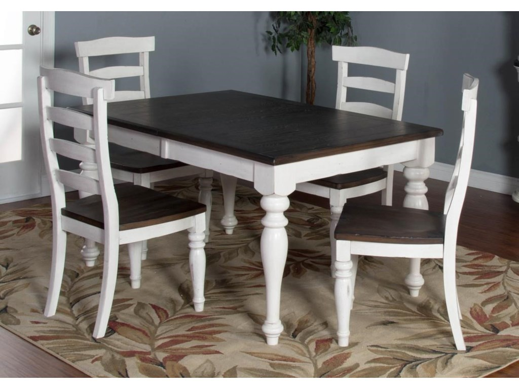 Market Square FairbanksFairbanks 5-Piece Dining Set